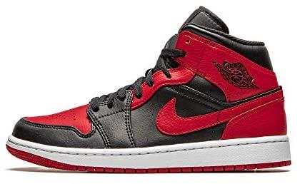 Nike - Air Jordan 1 Mid Banned Baskets pour homme, 554724 074 ...