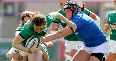 Coupe du monde de rugby : Griggs apporte quatre changements à l'équipe irlandaise pour un match incontournable en Italie