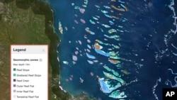 Des scientifiques créent la première carte des coraux du monde