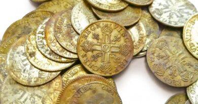 un trésor de 239 pièces d'or rares découvertes dans les murs d'un manoir français |  Nouvelles intelligentes