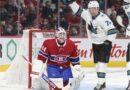 À propos d'hier soir: les Canadiens ont l'air d'un copain dans une défaite de 5-0 contre les Sharks