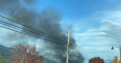 Incendie de structure sur Horizon Drive à West Kelowna – West Kelowna News